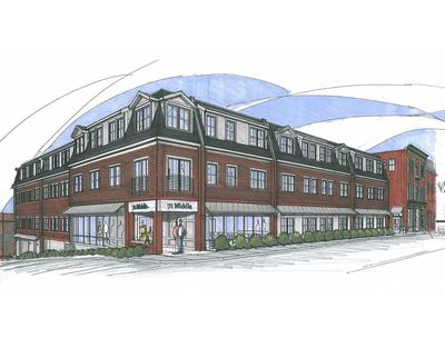 YMCA Middle Street Hero Exterior Rendering Facade Architecture