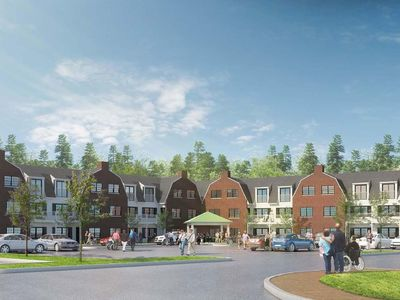 Maple Woods Horizontal Landing Architecture Interior Design North Shore Wenham Affordable Housing Senior Living
