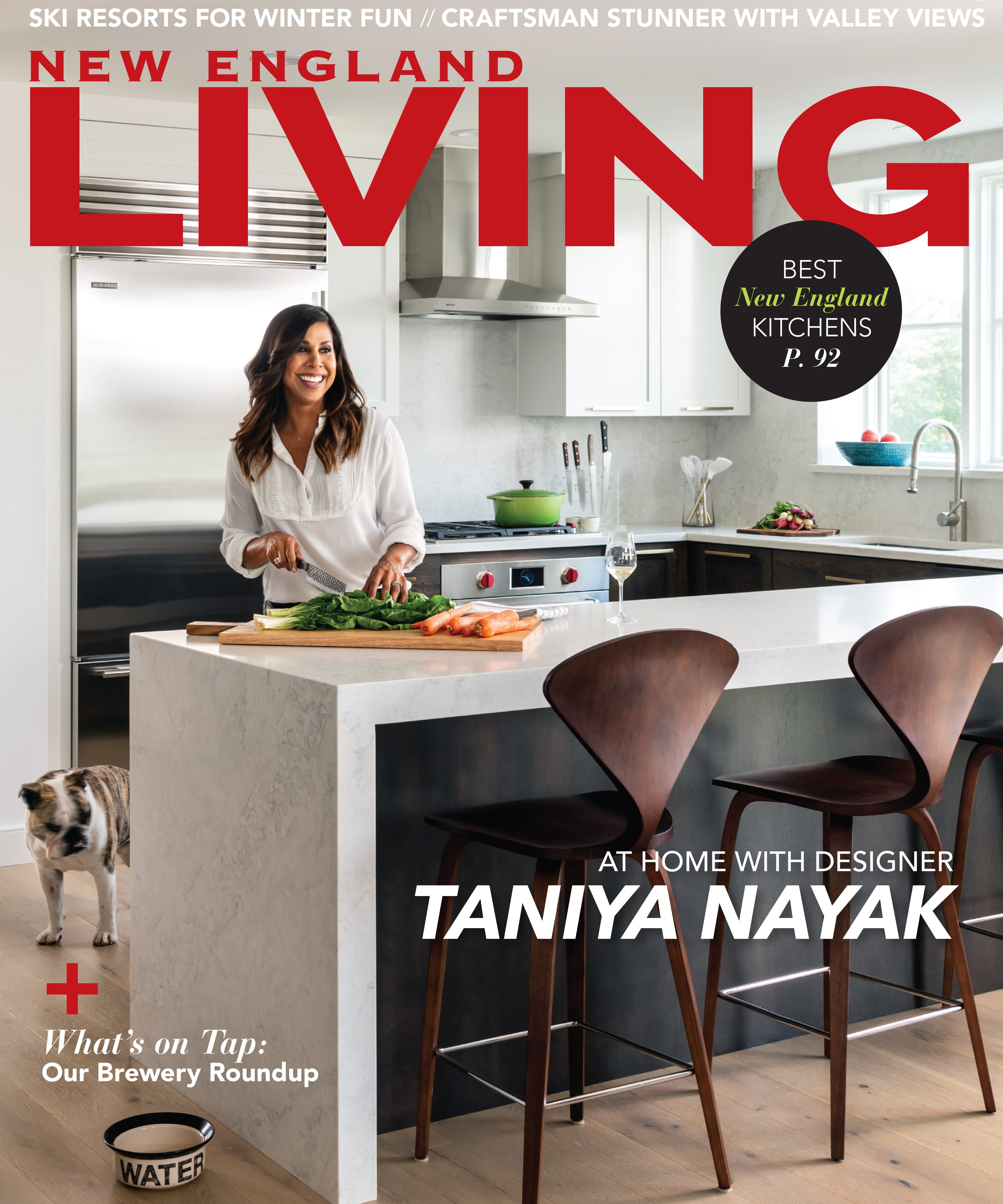 2019 New England Living Winter Cover