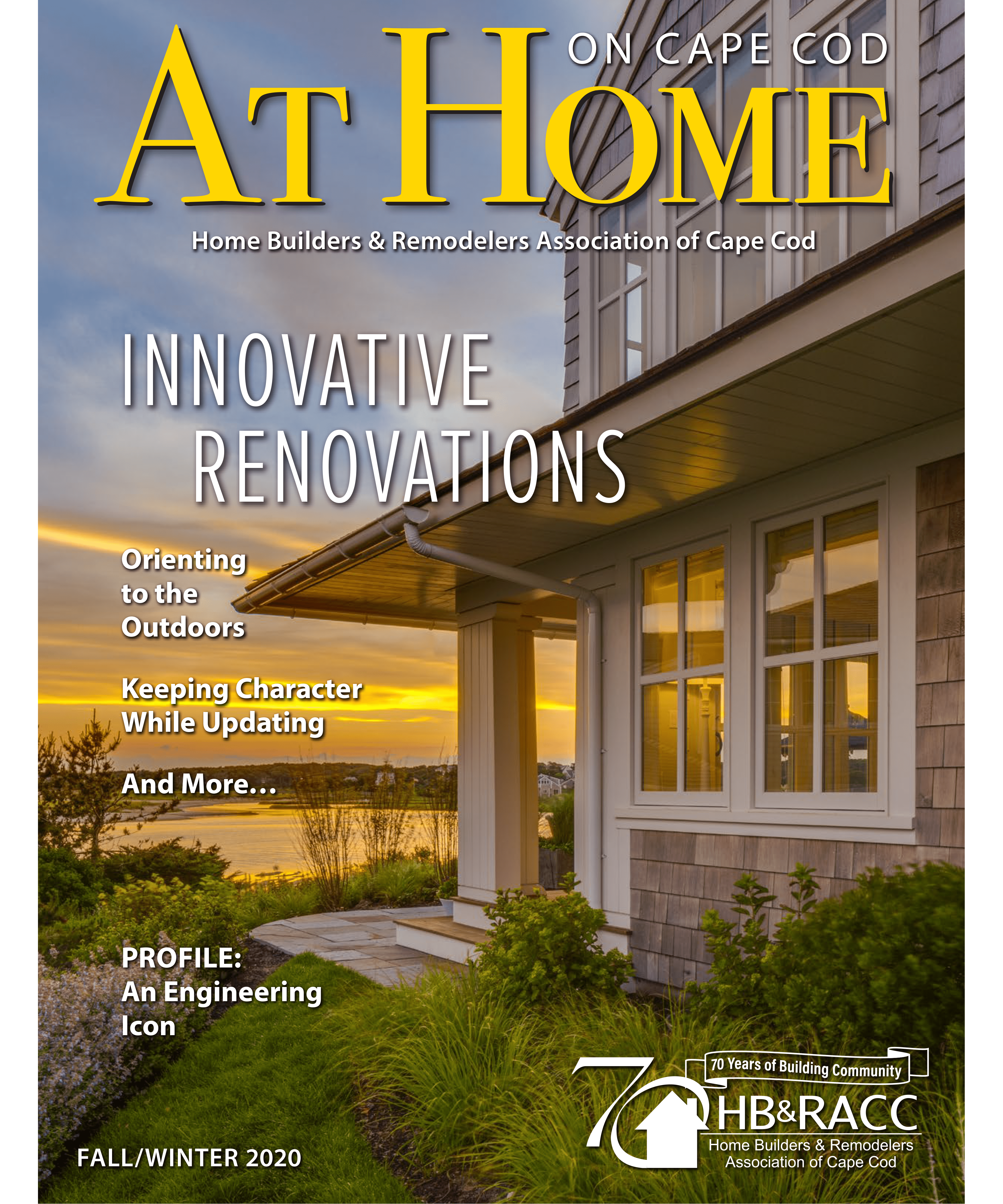 At Home Cape Cod Fall Winter Issue Cover 2020