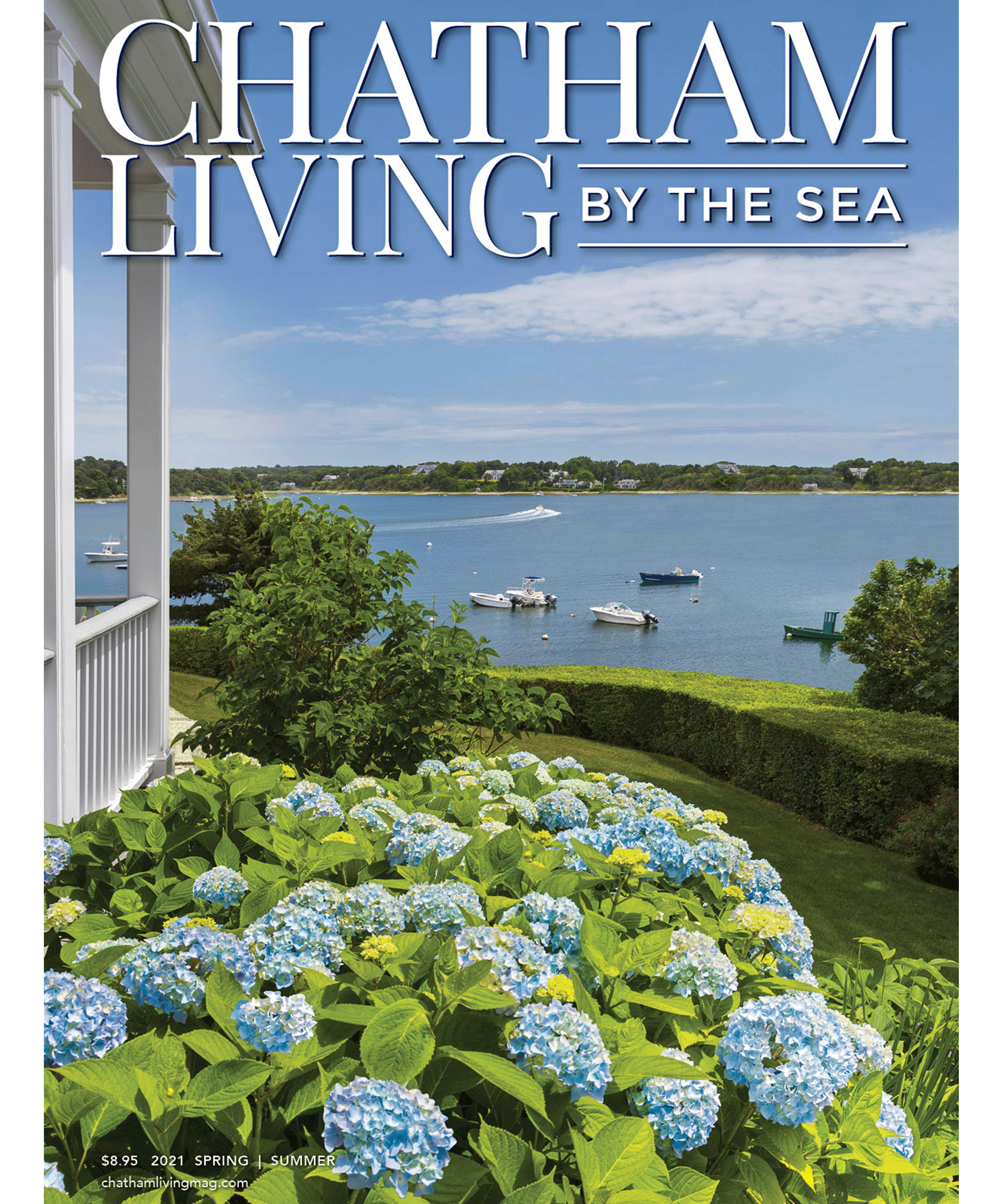 Chatham Living by the Sea Spring Summer Cover 2021