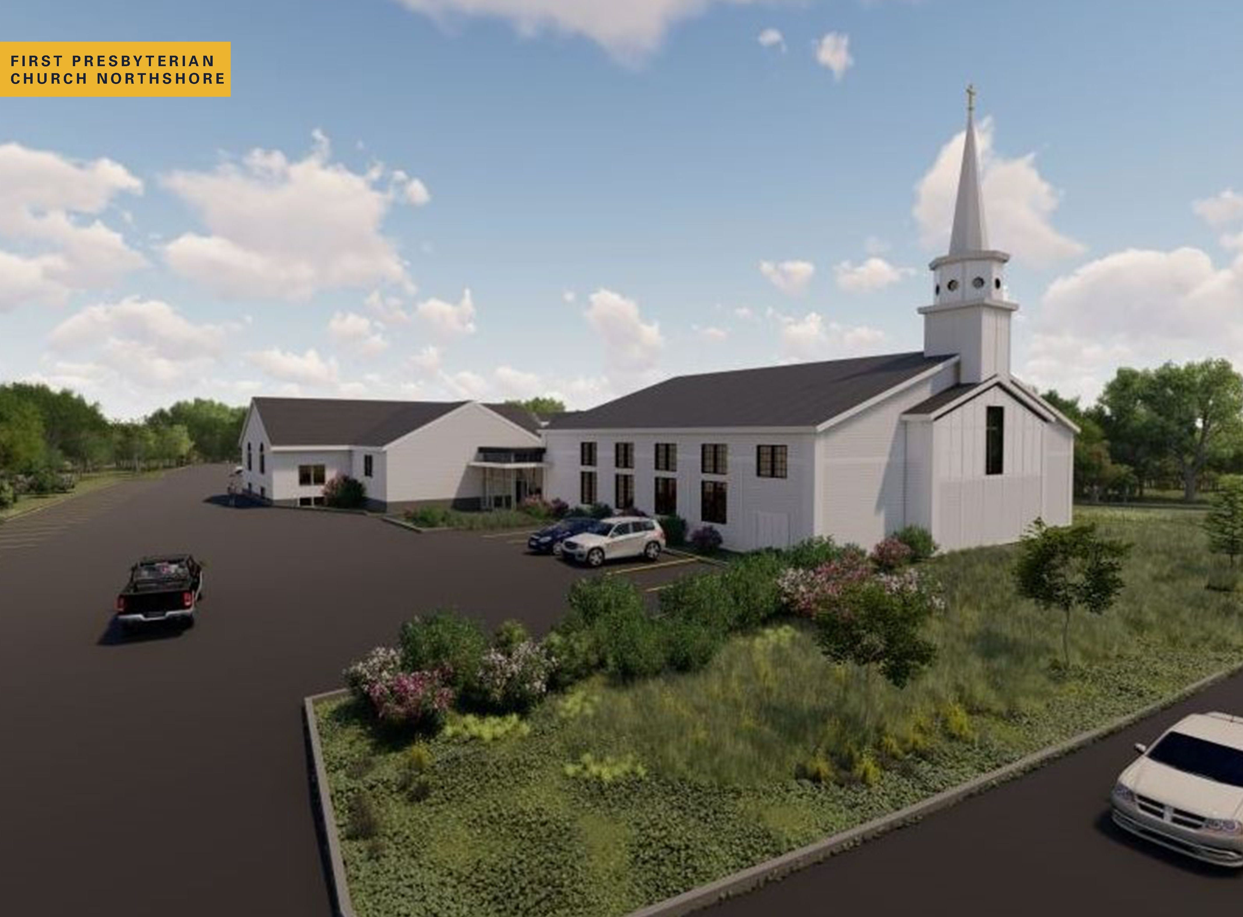 First Presbyterian Church Hero Ext Rendering with Name