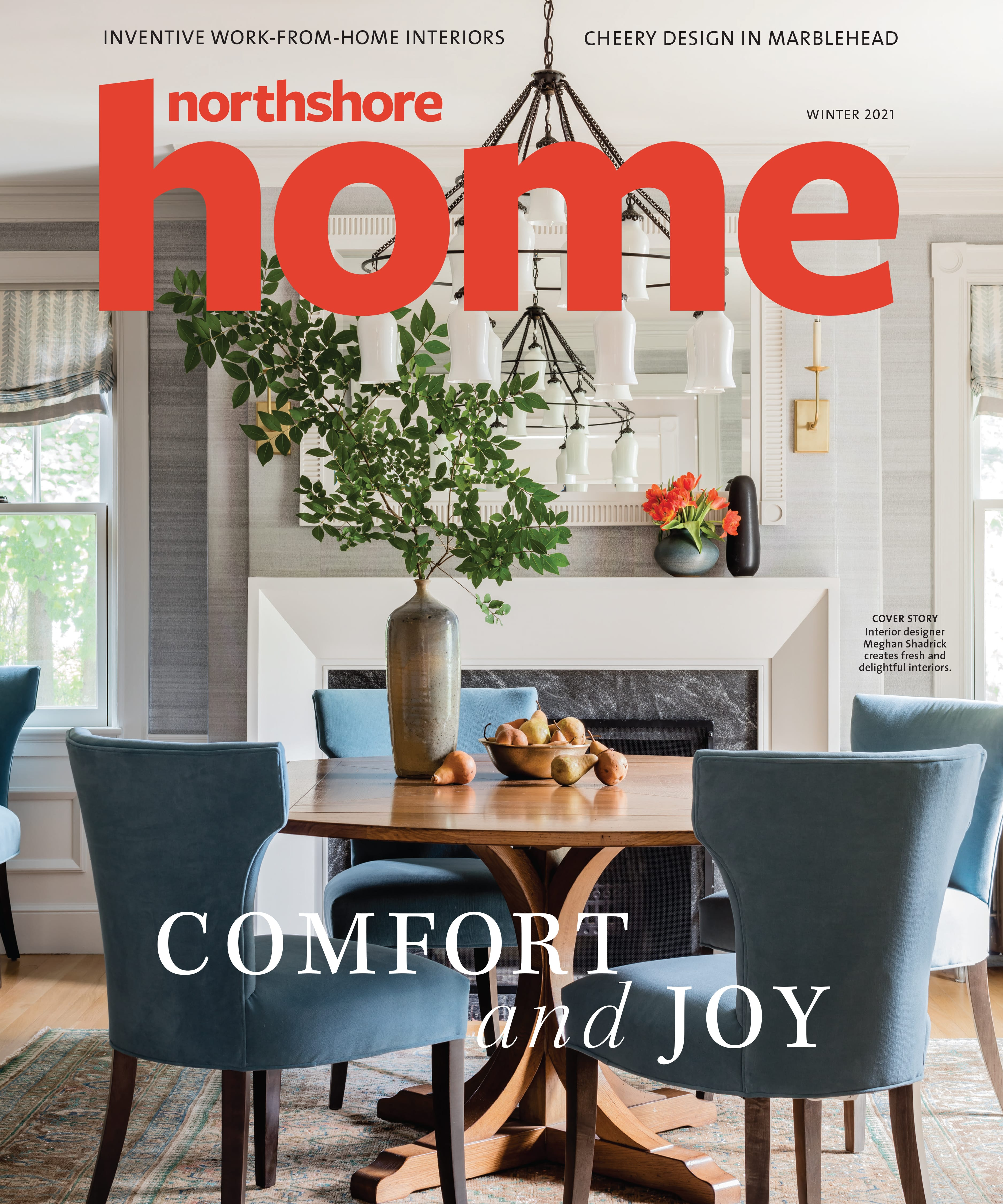 Northshore Home Winter 2021 Cover