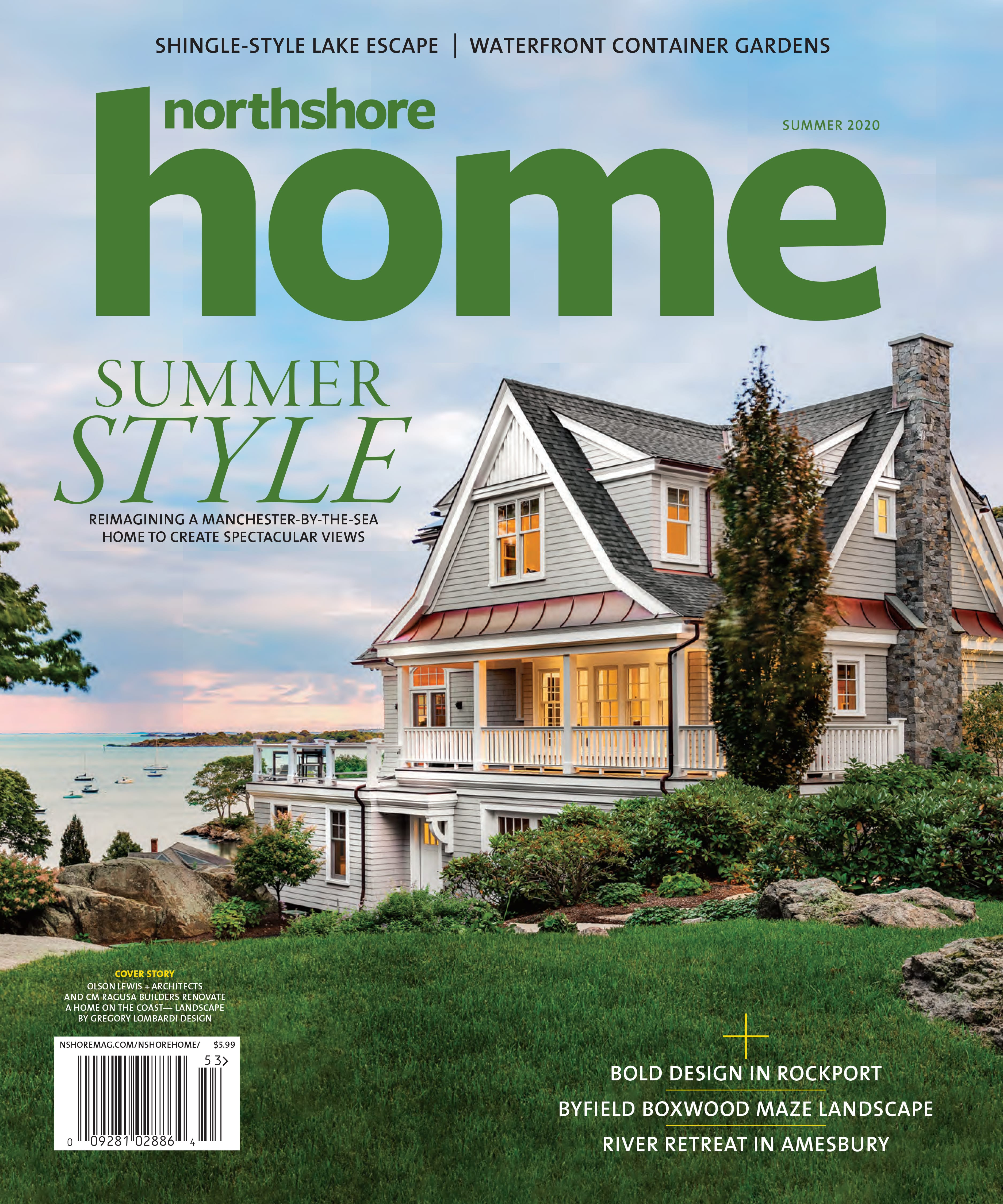 Northshore Home Summer2020 Cover